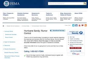 FEMA rumor control pic